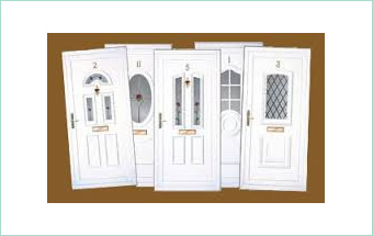 UPVC Reinforced Door Panels